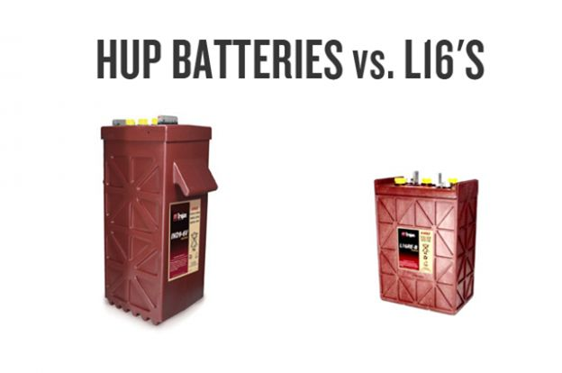 HUP Batteries vs. L16