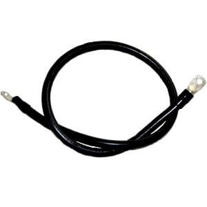 Battery Inverter UL Cable 2/0 Black with Black Heat Shrink