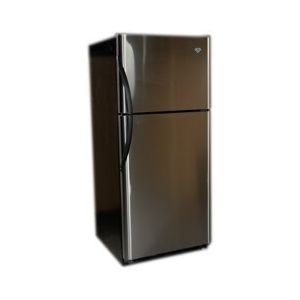 Crystal Cold Propane Refrigerator/Freezer Stainless 18 cu ft