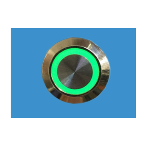 ACT D'MAND HWB-LED-S Hardwired LED silver activation button