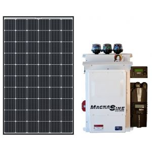 Country Home 6.4kW QCell-Magnum System
