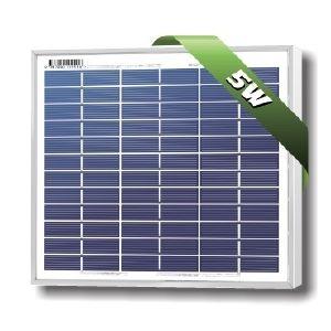 SolarLand 5W Poly 12Volt Silver SLP005-12U