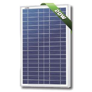 SolarLand 20W Poly 12Volt Silver SLP020-12U